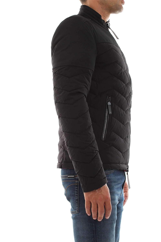 Guess M94L49 W6NW1 Quilted JKT Vestes ET Blousons Homme