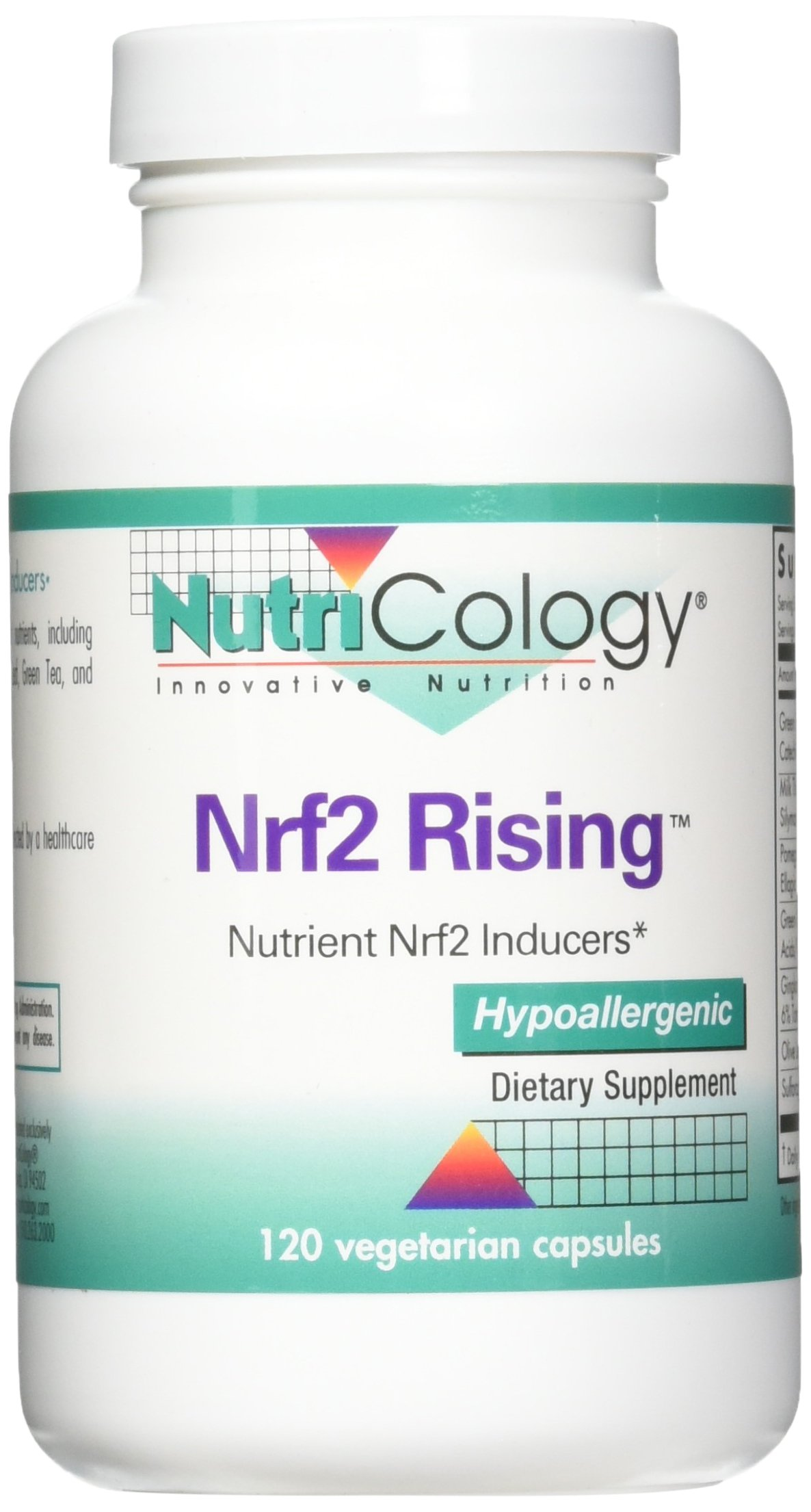 Nutricology NRF2 Rising Supplement, 120 Count