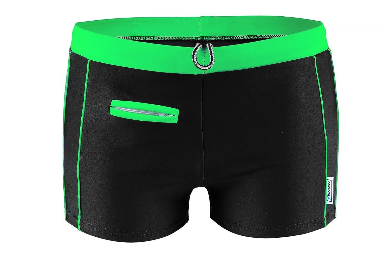 2031aea9e39 Men's Lycra Swim Trunks, Professional Swimwear Shorts: Amazon.co.uk:  Clothing
