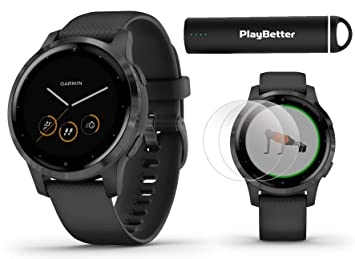Garmin vivoactive 4 Smartwatch Power Bundle   Modelo 2019 ...