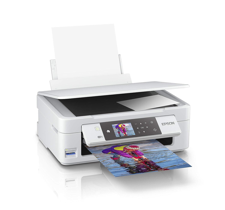Epson Expression Home XP-455 - Impresora multifunción (Inyección de tinta, 5760 x 1440 DPI, 100 hojas, A4, Impresión directa, Blanco)