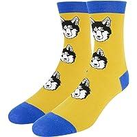 Women Girls Cute Funny Animal Dog Cat Polka Dot Panda Novelty casual Cartoon Crew Ankle Socks 5 Pack