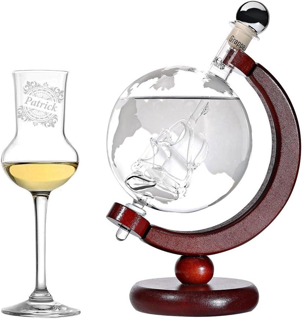 Grappa Geschenkset Globus