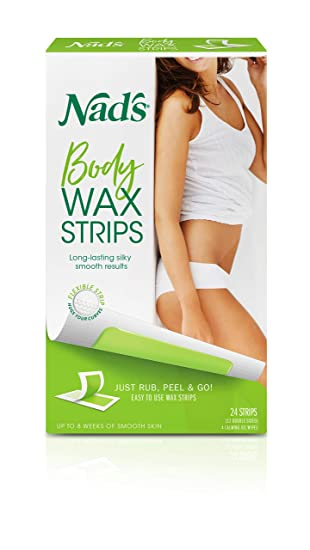 Amazon Com Nad S Body Wax Strips Wax Hair Removal For Women