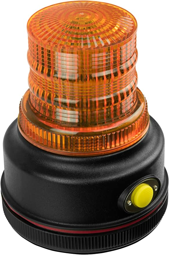 Blazer C42A LED Caution Light with Magnetic Base Amber