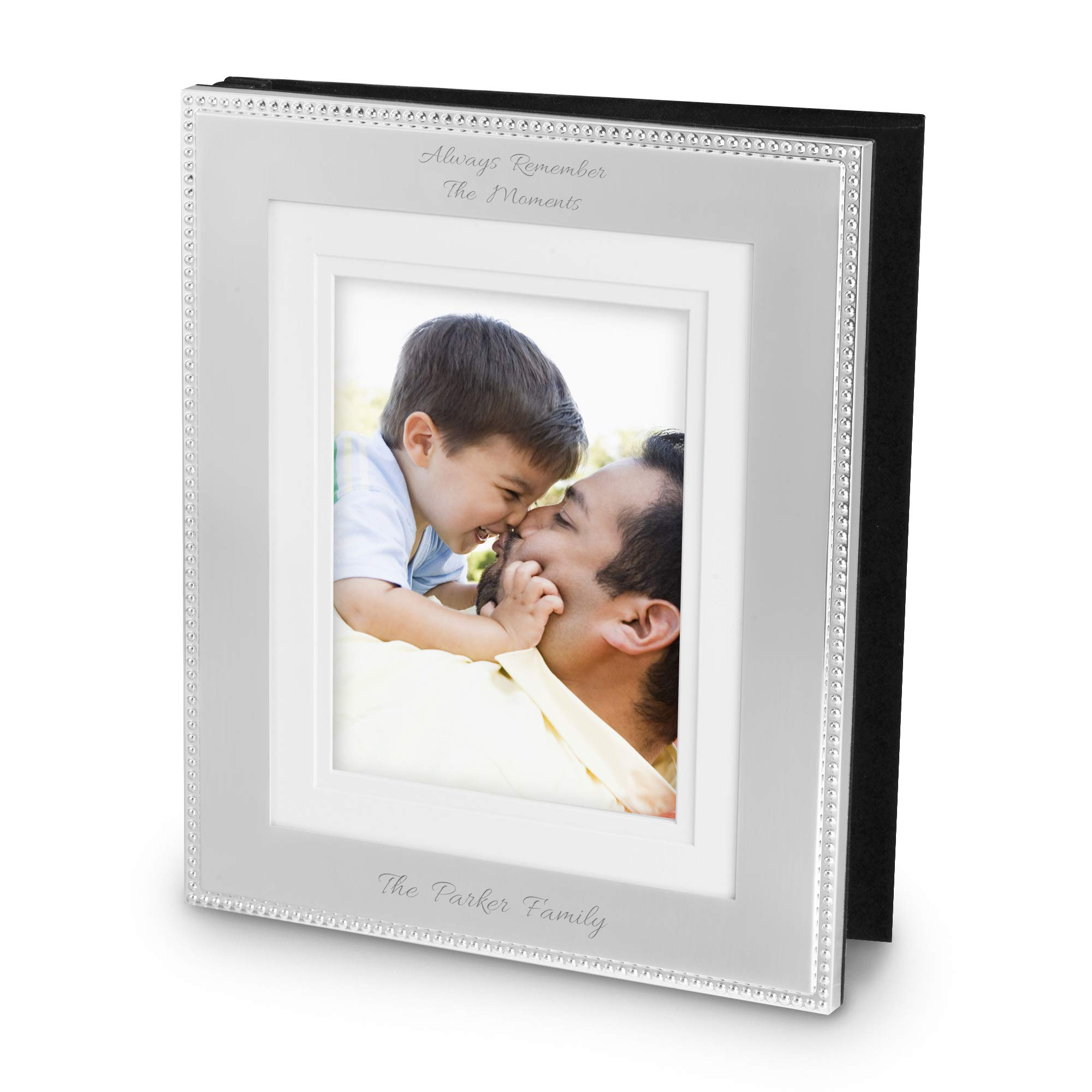 Things Remembered Personalized Beaded 8x10 Photo Album with Engraving Included