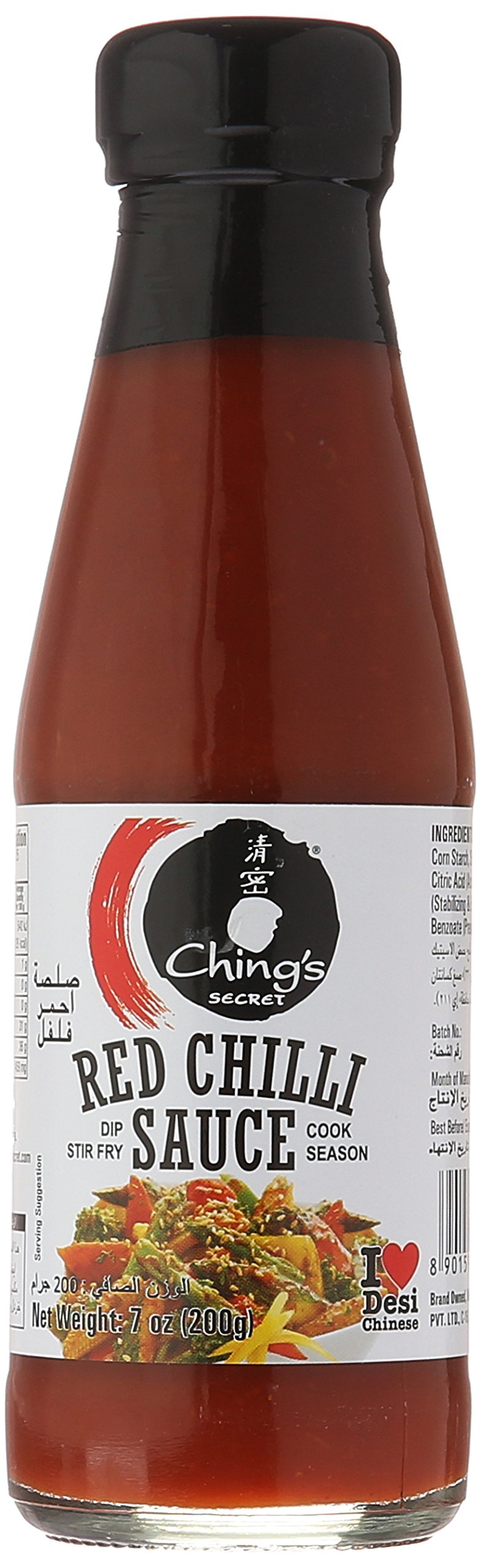 Chings Red Chilli Sauce 7 Oz