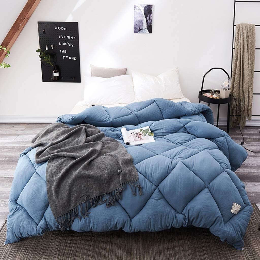 MMM Quilt dhiver plus /épais Conservez l/édredon chaud Espace de base Coton Double climatisation Literie couchage 2.0m Lit 3.5kg Couleur : #4, taille : 220 * 240cm