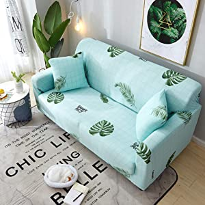JiaQi Sofa Sets Slipcover Sofa,Elastic slipcover,Dust-Proof Anti-Slip Sofa slipcovers Furniture Protector for 1 2 3 4 Cushions Sofa-AK 4 Seater