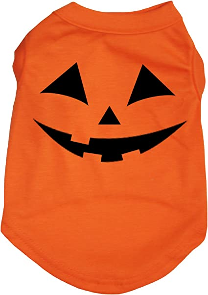 XS-SM Dog T-Shirt Costume Halloween Pumpkin Tee Pajama Clothe Ghost Pumpkin