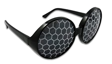 965319ac079 Amazon.com  Insect Fly Sunglasses Bug Eye Glasses (Silver)  Health    Personal Care