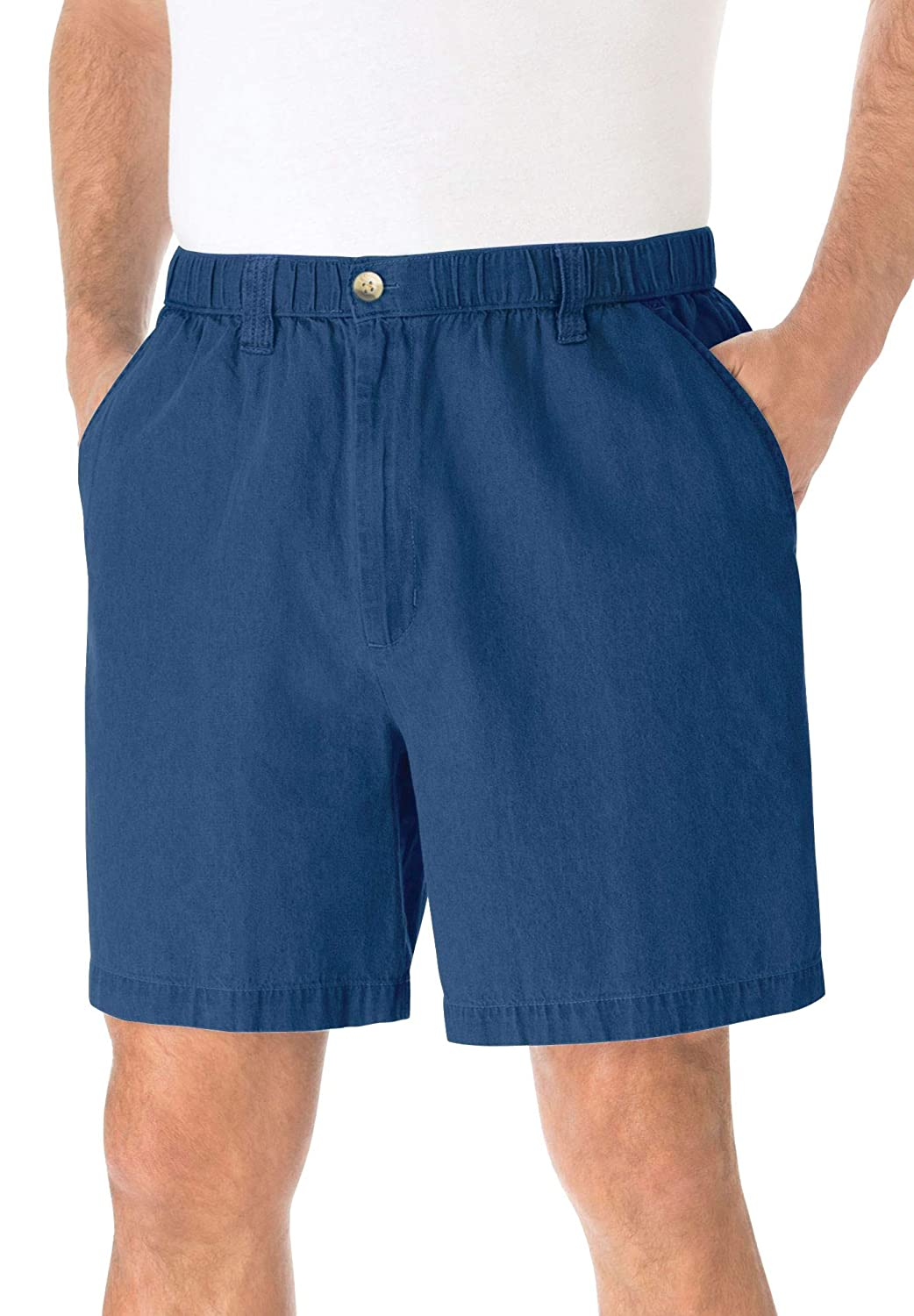 KingSize Mens Big /& Tall 6 Pull-on Shorts