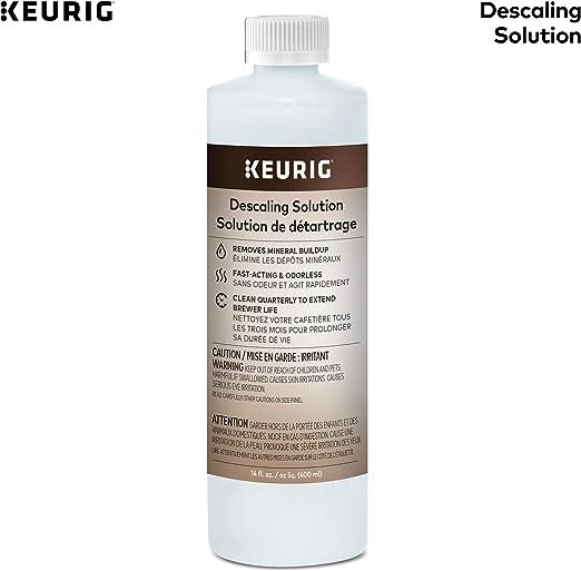 Amazon.com: Keurig Descaling Solución Limpiador de Brewer ...