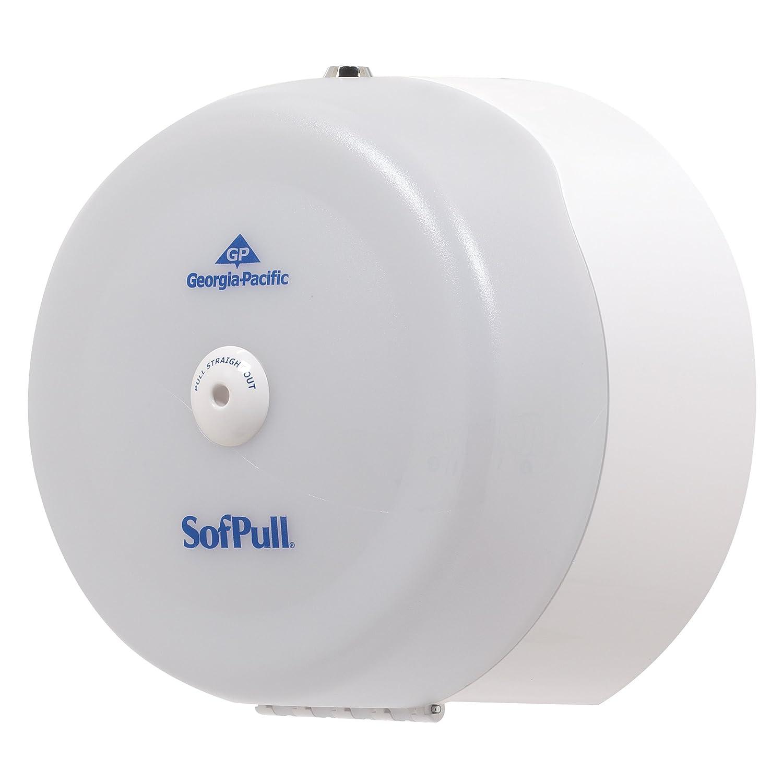 Georgia-Pacific SofPull 56507 Translucent White High-Capacity Centerpull Bathroom Tissue Dispenser: Cleaning Supplies Dispensers: Amazon.com: Home ...