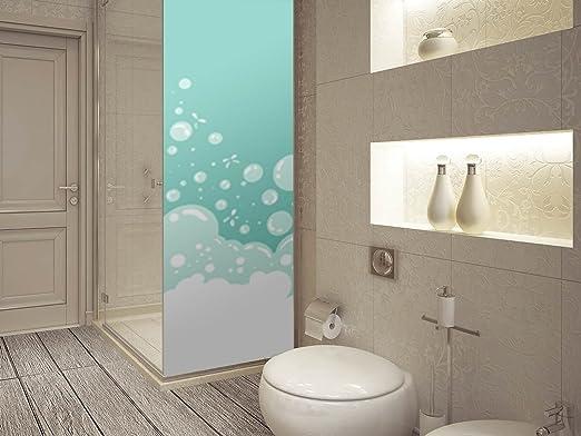 Vinilo para Mamparas Baños Burbujas Verdes | Varias Medidas ...