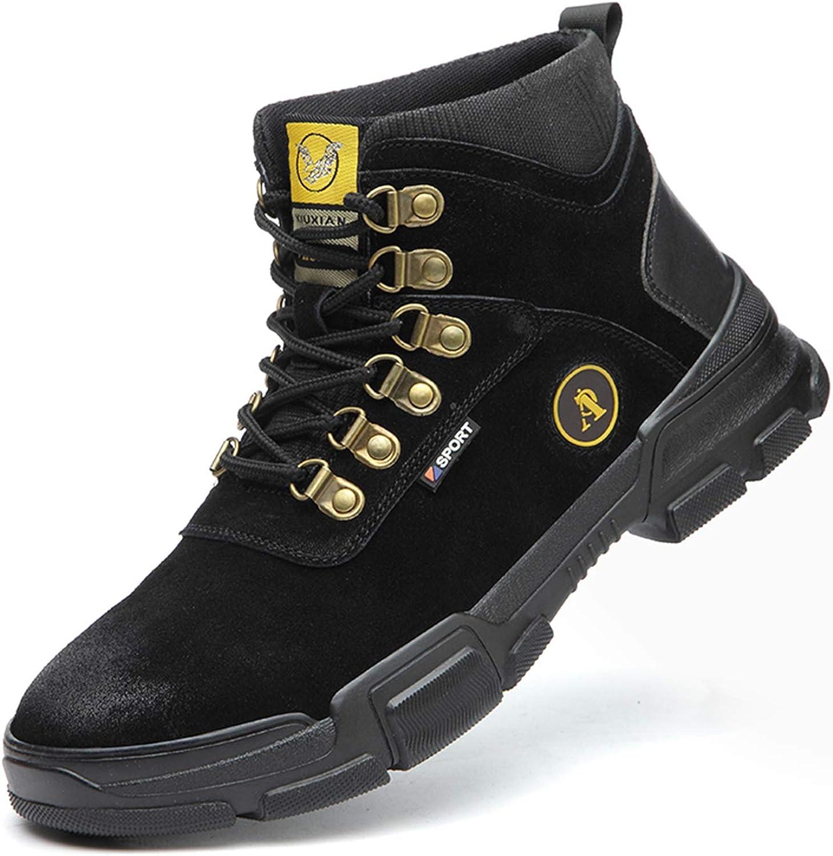 JUDBF Steel Toe Boot Men Lightweight