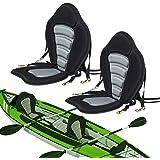 Seamander Kayak seat Canoe Seat with Detachable Back Storage Bag for Universal Sit