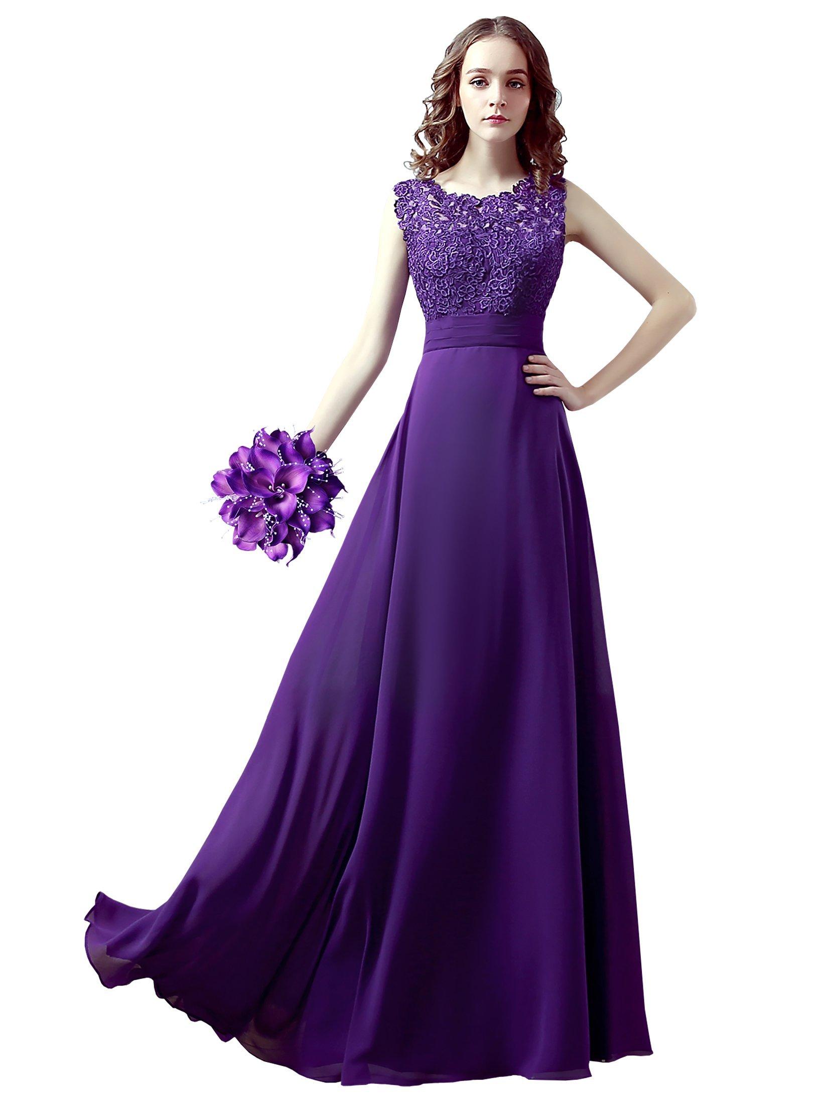 Purple Bridesmaid Dress: Amazon.co.uk