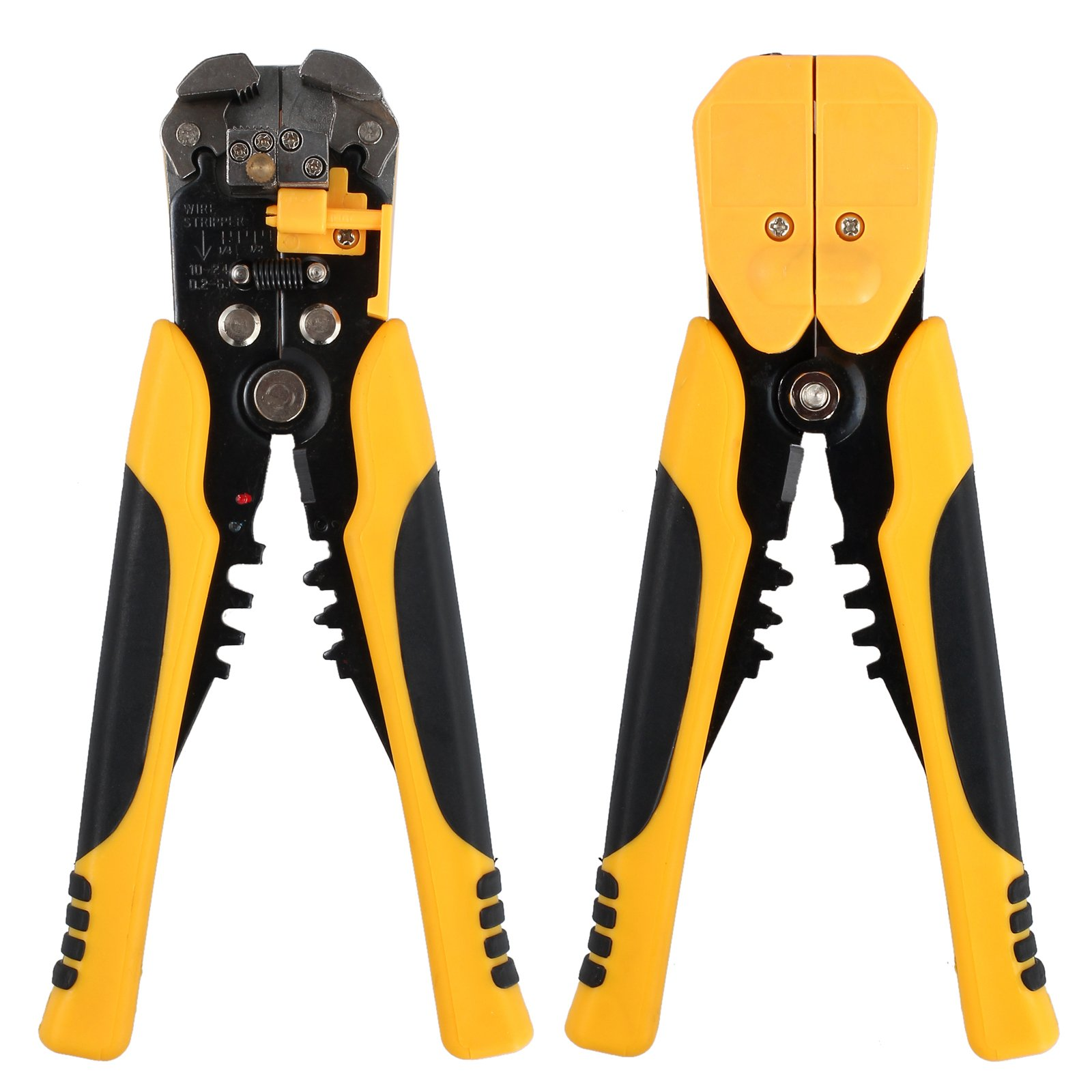Proxima Direct Cable Crimper Wire Stripping Plier Tool Set Automatic Wire Stripper Crimper Cutter Cable Stripping Cutting Crimping Multifunctional Pliers 0.2-6 mm ² by Proxima Direct (Image #1)