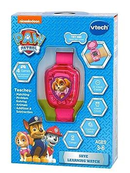 VTech 199583 Paw Patrol Skye - Reloj de Pulsera de Juguete Preescolar: Amazon.es: Juguetes y juegos