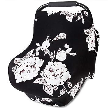Amazon.com: Lactancia Funda scarf-organic algodón toldo de ...