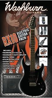 Washburn Rx-10 B Pack - Washburn Rx-10 B - Pack De Guitarra