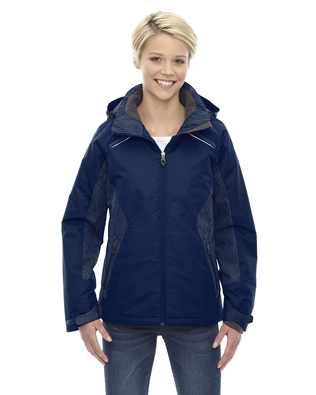 North End Ladies Linear Insulated Jacket 78197