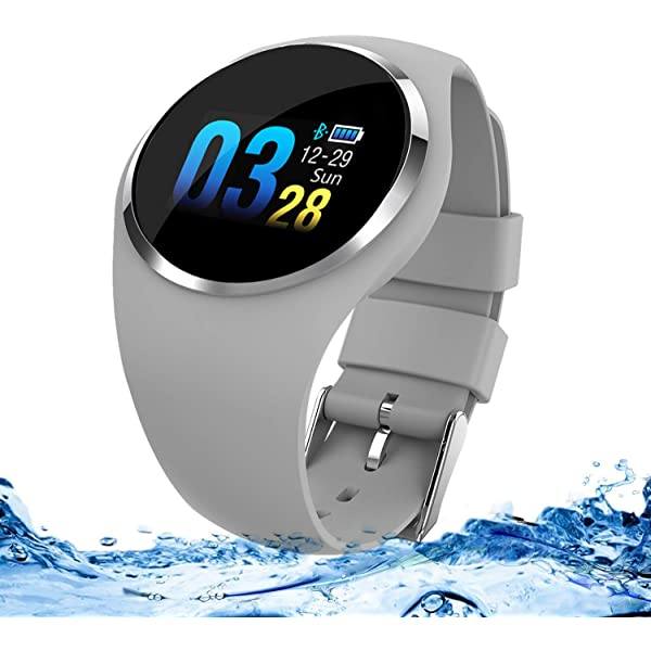 Miya Sports Smart Relojes Impermeables Color Pantalla Táctil ...