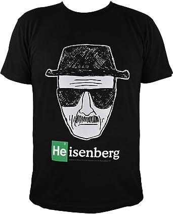Breaking Bad - Camiseta - Redondo - para Hombre Negro Large: Amazon.es: Ropa y accesorios
