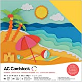 American Crafts 376988 Cardstock Variety Pack Summer 60 Sheets of 12 X 12 Cardstock