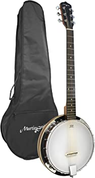 Martin Smith BJ-003 6 String Guitar Banjo
