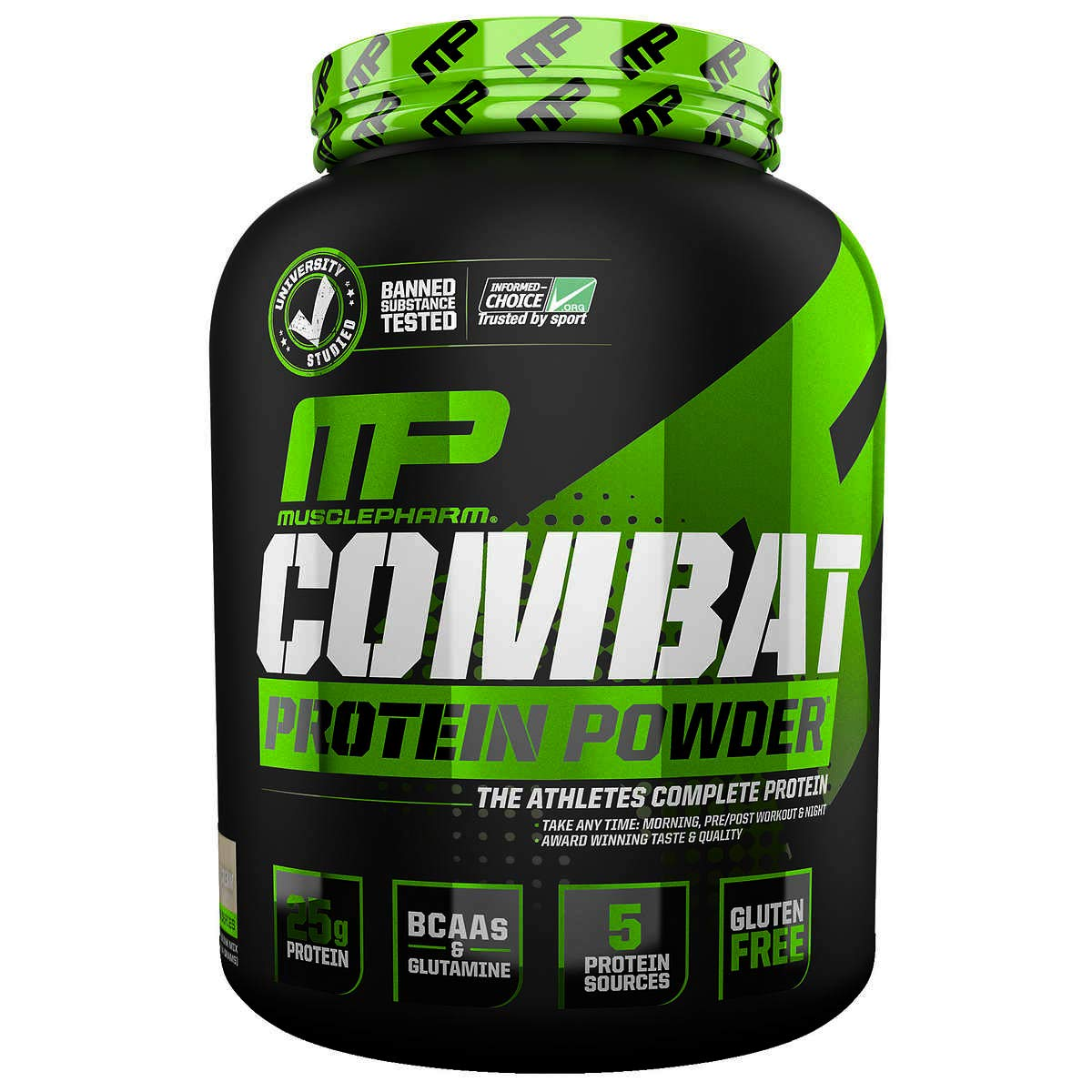 MusclePharm Combat Protein Powder Cookies N Cream 5 lbs 2275 g