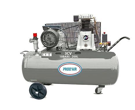 prodair prodair200h Compresor Correa 3 CV/230 V 200 L
