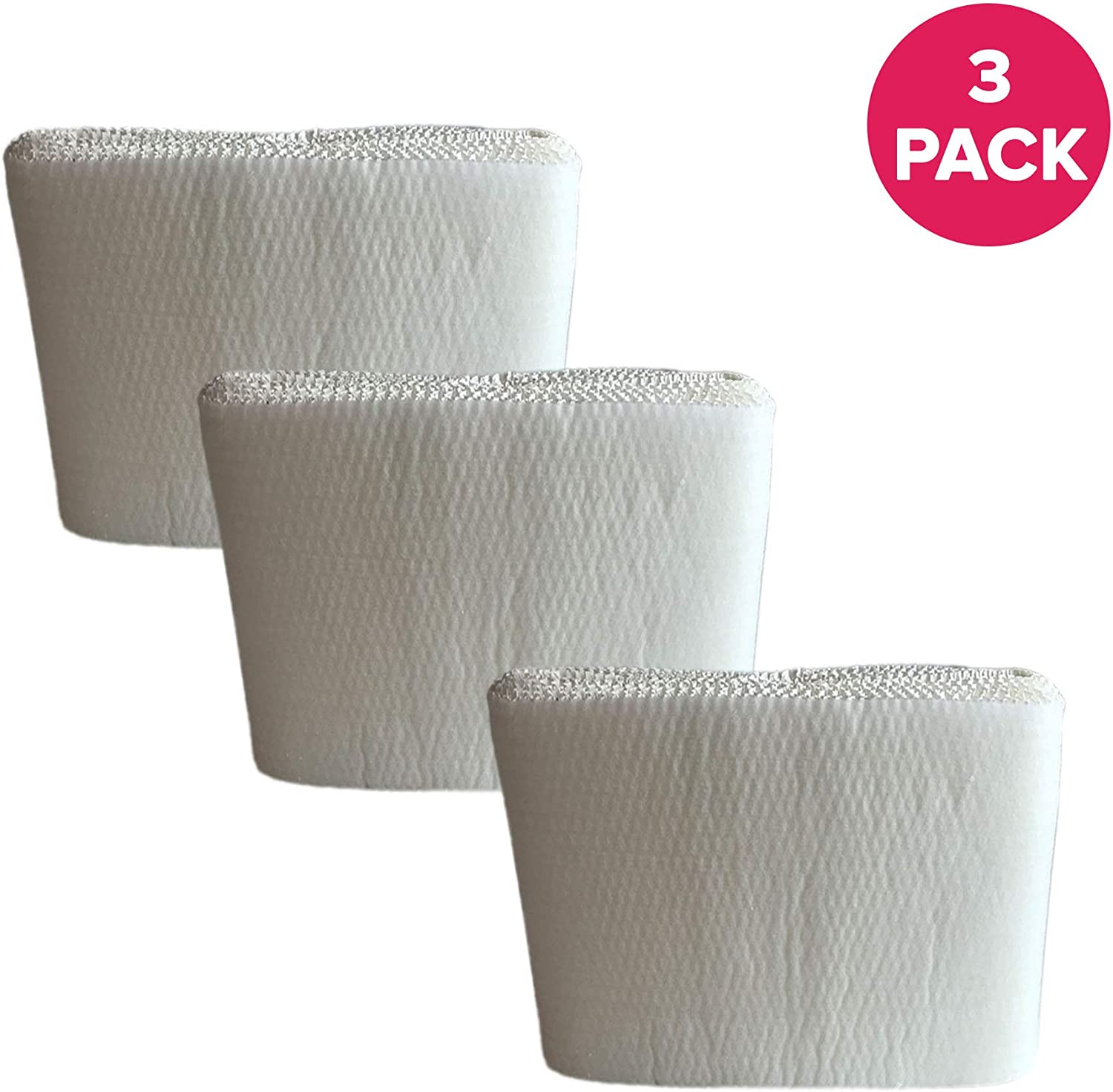 Crucial Air Replacement Humidifier Wick Filter Compatible with Honeywell Models HCM3500,HM3600,HCM-6000 Air Filters Parts # HC-14 Bulk (3 Pack)