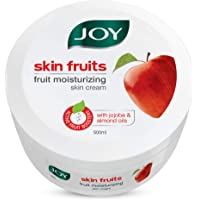 Joy Skin Fruits Fruit Moisturizing Skin Cream With Jojoba and Almond Oil, 500ml, For All Skin Type