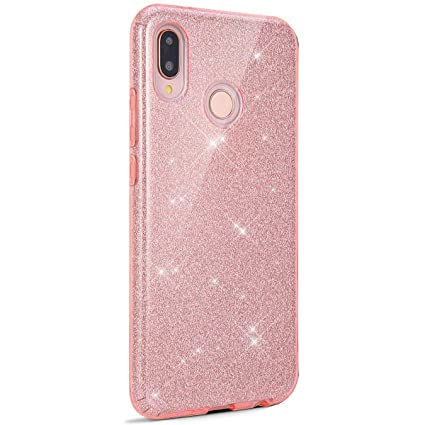 Amazon.com: Surakey Huawei P20 Lite Case, Luxury Glitter ...