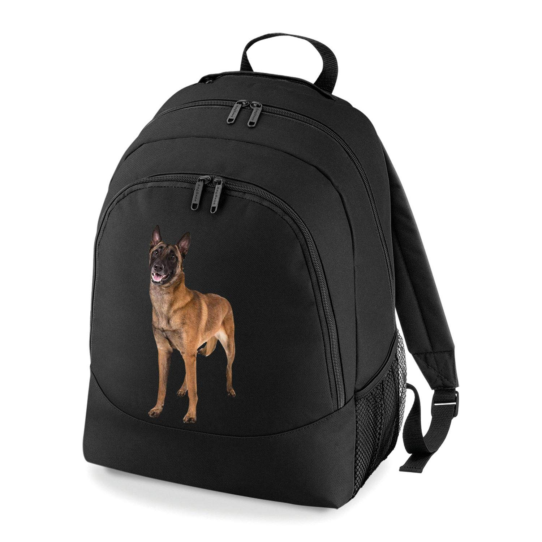 Taurus Clothing Belgian Malinois Dog Personalised Embroidered Rucksack