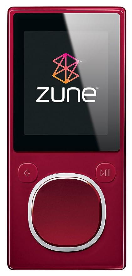 amazon com zune 8 gb digital media player red home audio theater rh amazon com Zune HD Wallpaper zune hd 16gb manual pdf