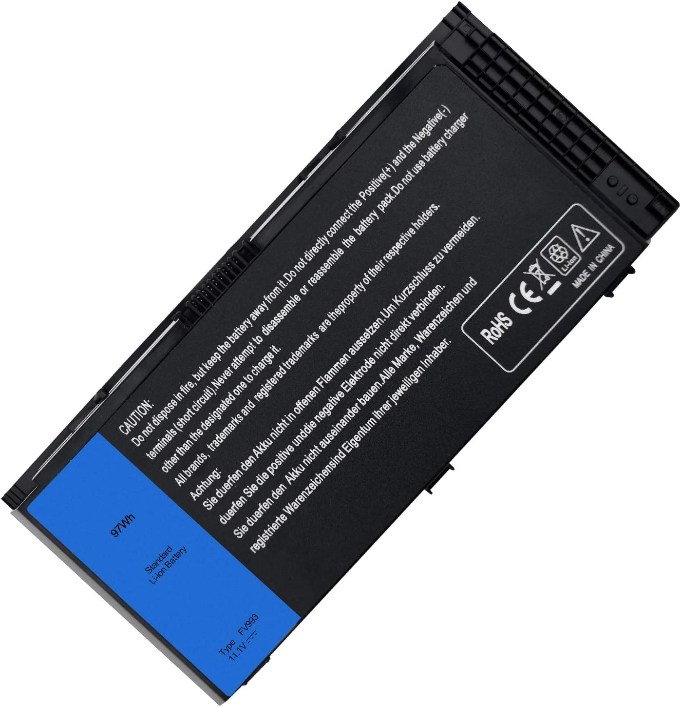 New M6600 Laptop Battery for Dell Precison M4600 M4700 M4800 M6700 M6600 M6800 Series,Fits FV993 FJJ4W KJ321 PG6RC V7M28 R7PND 7DWMT JHYP2 K4RDX