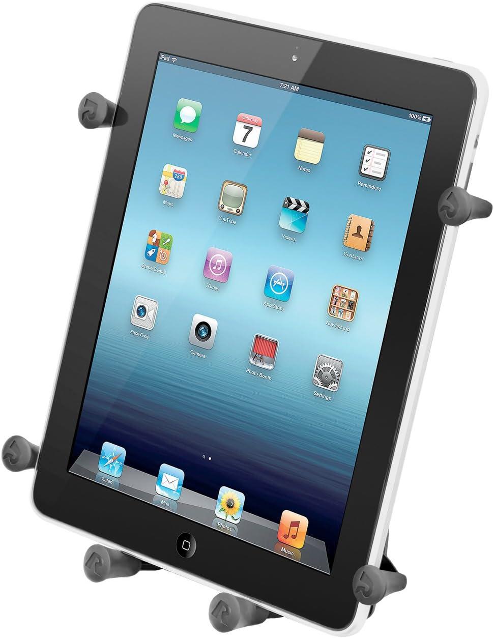Ram B 166 Un9u Ram Twist Lock Saugnapf Halterung Mit Universal X Griptm Iii Halter Für Große Tablets Computer Zubehör
