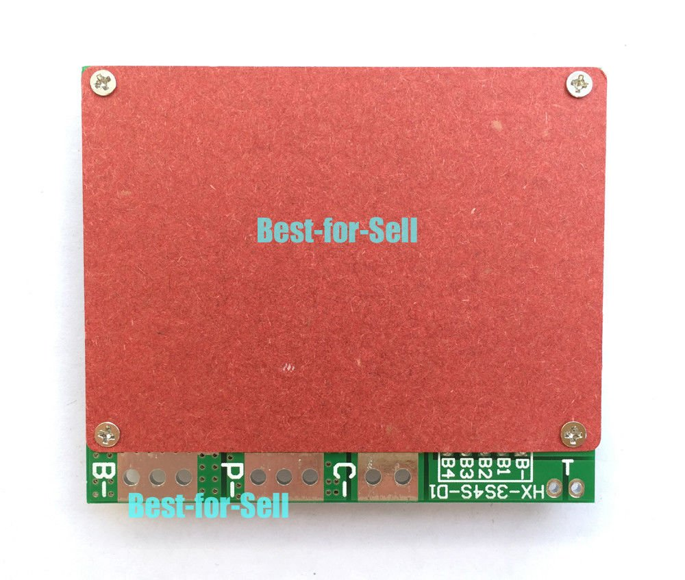 FidgetKute 4S 14.8V 16.8V 100A w/Balance Li-ion Lithium 18650 Battery BMS Protection Board