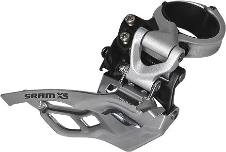 SRAM X7 Front Derailleur 3 x 9 High Clamp Dual Pull 28.6//31.8//34.9 Storm Grey