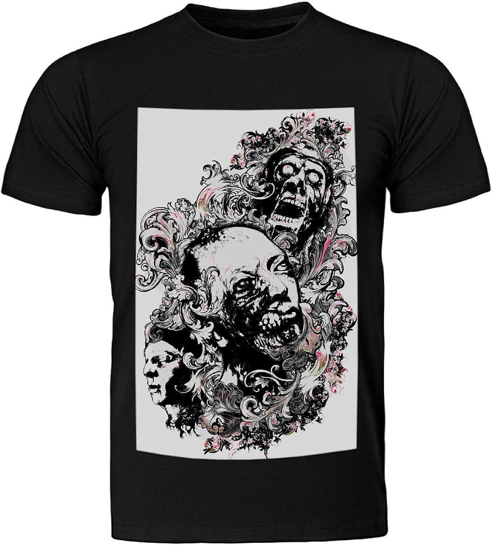 Camiseta de deporte para hombre, manga corta, corte estándar ...