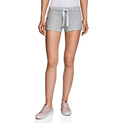 oodji Ultra Femme Short Basique en Maille (Lot de 5)