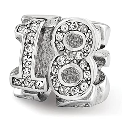 Sparkly-Jewels - Abalorio para pulsera don diseño de 18 ...