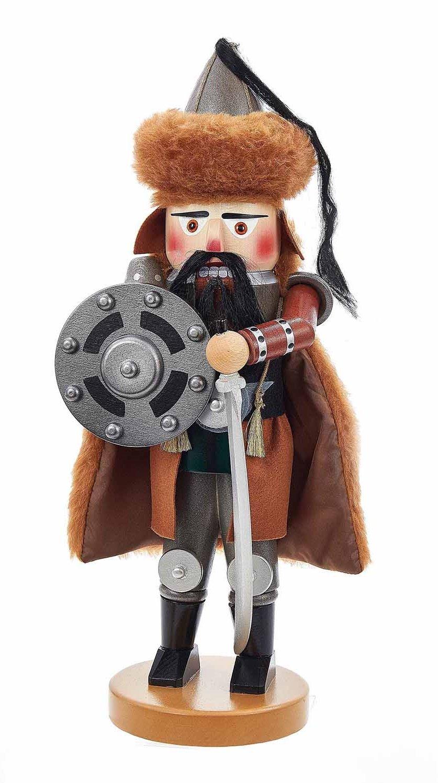 Kurt Adler 18.5'' Steinbach Genghis Khan Nutcracker