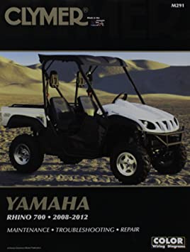 amazon com clymer m291 repair manual automotive rh amazon com rhino 700 service manual yamaha rhino 700 service manual pdf