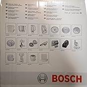 Bosch MUZ4MX2 - Accesorio de vaso para robot de cocina, plástico: Bosch: Amazon.es: Hogar