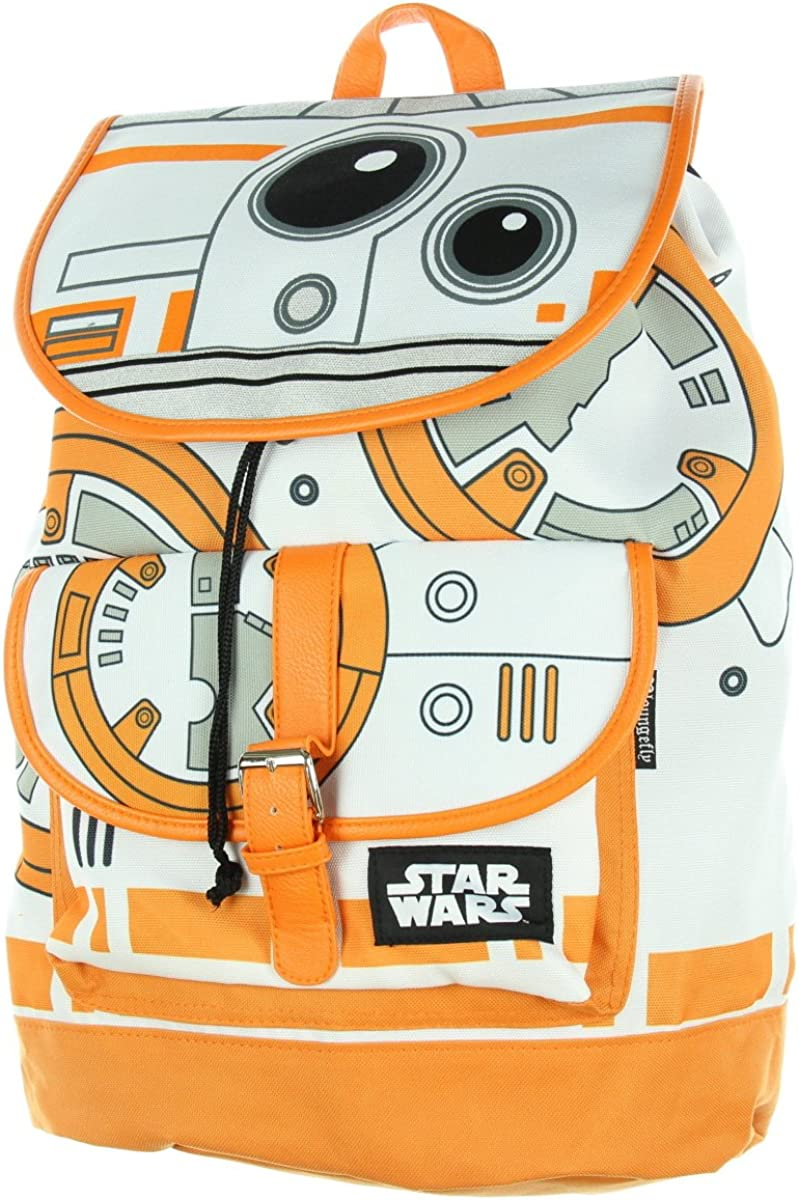Star Wars The Force Awakens BB-8 Slouch Backpack
