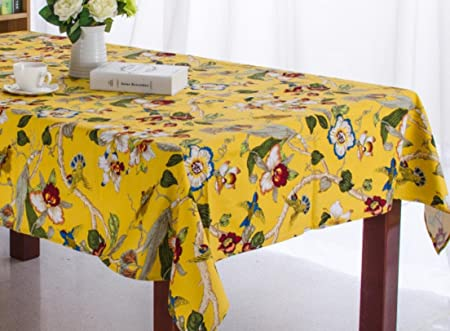 3b00a078fbc LF Y 100% cotton tablecloth hotel table table cloth retro home decoration  oil resistant high temperature